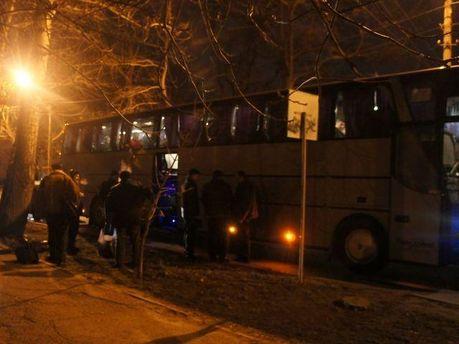 Автобус в Николаеве