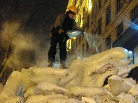 Зима на Евромайдане