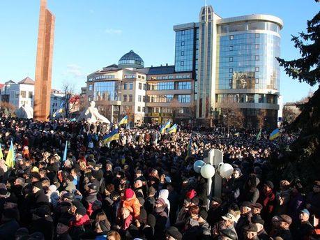 Евромайдан в Ивано-Франковске