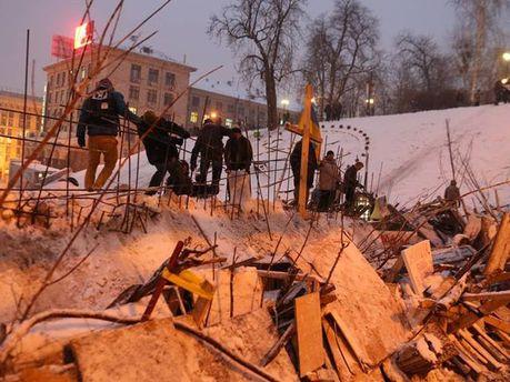 Баррикады на Евромайдане