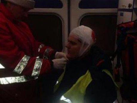 Іллєнко після штурму правоохоронцями Євромайдану