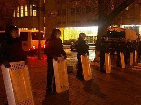 Правоохоронці у центрі Києва