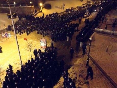 Перед штурмом Евромайдана