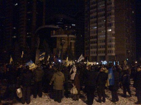 Мітинг під ЦВК