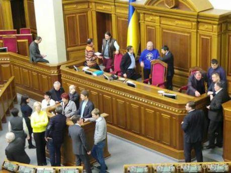 Раду блокируют. Фото Дмитрия Ларина
