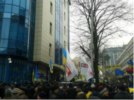 Заблокировали банк Януковича-младшего