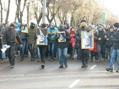 Евромайдан в Луцку