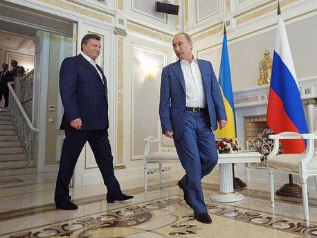 Янукович і Путін