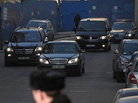 Кортеж Януковича