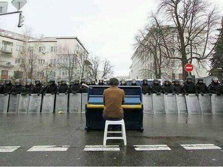 Пианист с Евромайдана