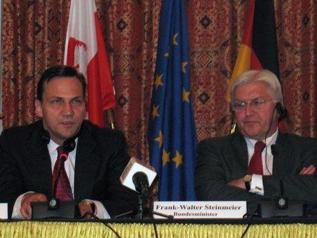 Главы МИД Польши и Германии