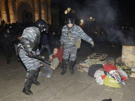 Жорстоко розігнали Євромайдан