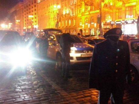 Акция возле квартиры Виталия Захарченко