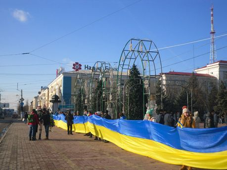 Євромайдан, Луганськ