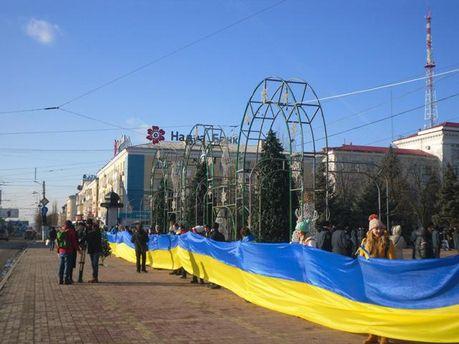 Евромайдан, Луганск