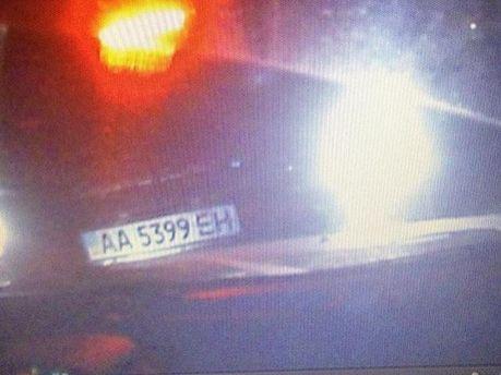 Фото с видеорегистратора авто Татьяны Черновол