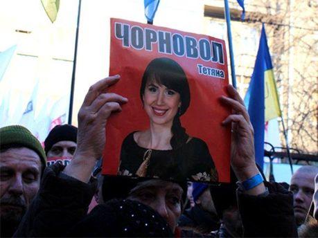 Активісти пікетували МВС з вимогою розслідувати напад на Чорновол
