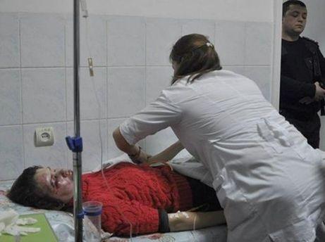 Чорновол в больнице