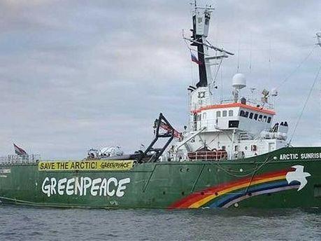 Корабль Greenpeace