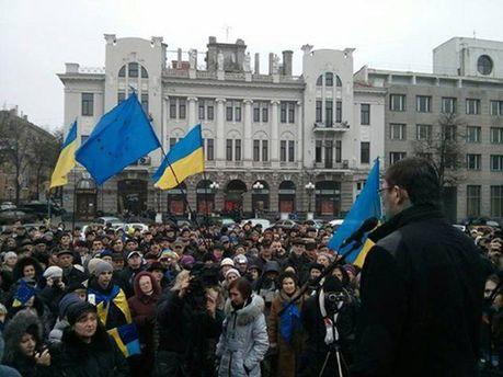 Юрий Луценко в Харькове