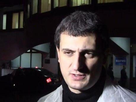Микола Березовий