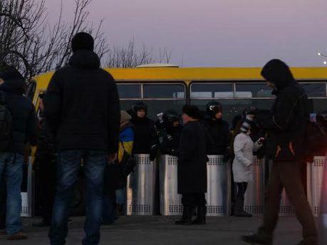 Автомайдан приехал в Межигорье