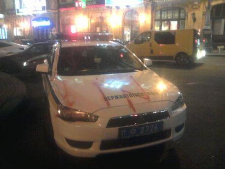 Разрисованное авто