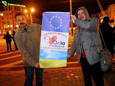 Станіслав Трошин (справа на фото)
