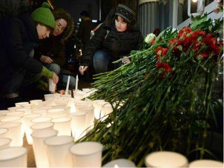 Вшанували пам'ять жертв терактів у Волгограді