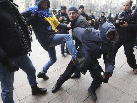 Провокация на Майдане