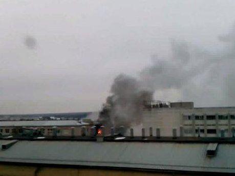 Пожар на харьковском
