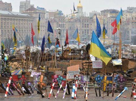 Барикади Євромайдану