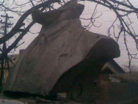 Поврежденный Ленин