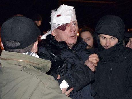 Юрий Луценко после нападения