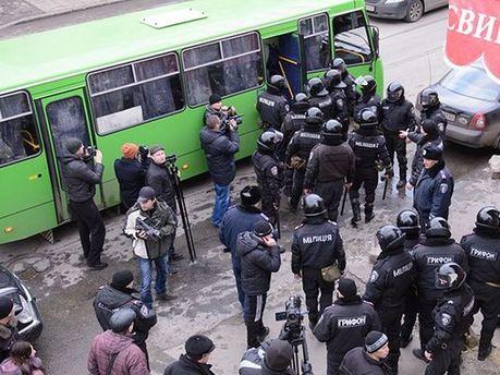 Милиция в Харькове