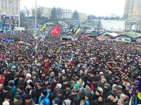 Євромайдан 12 січня