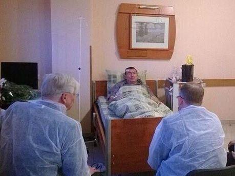 Юрій Луценко в лікарні