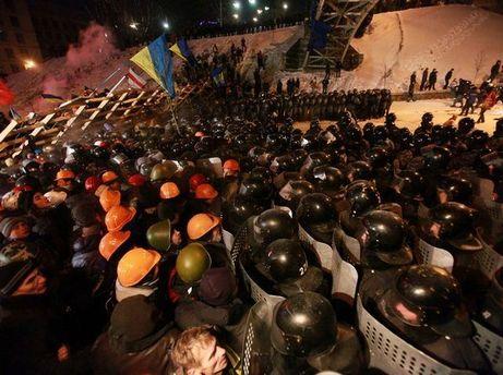 Штурм Майдана 11 декабря 2013