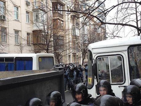 Заблокированая улица