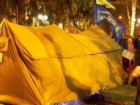 Палатка Евромайдана