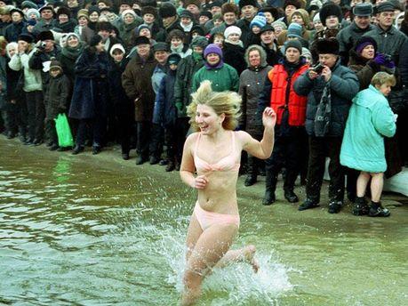 На Водохреща в Україні буде мороз