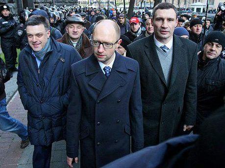 Лідери української опозиції
