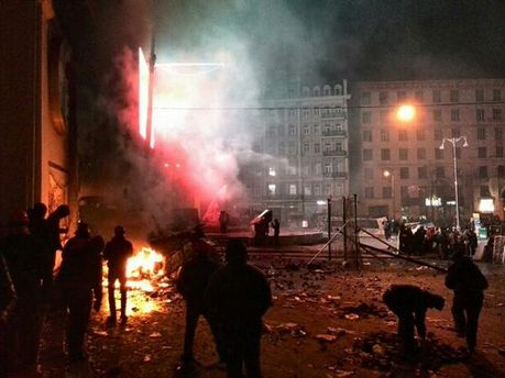 Сутичка у центрі Києва