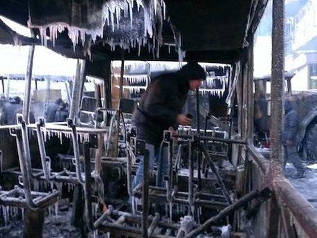 Зима на Грушевського