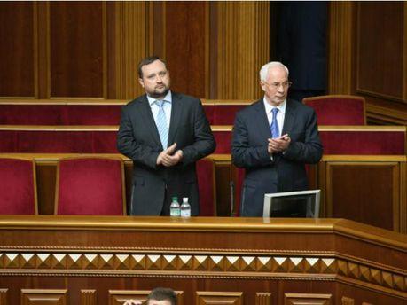 Николай Азаров и Сергей Арбузов
