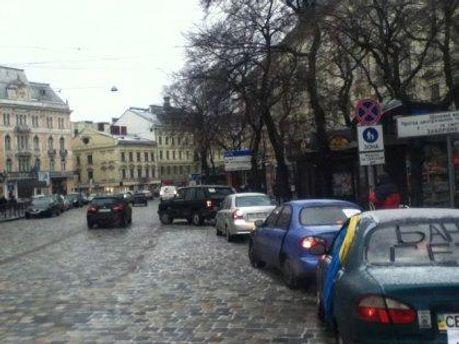 Автомобилисты Львова
