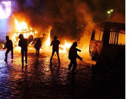 Протести на вул. Грушевського