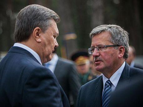 Янукович і Коморовський