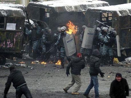 Протистояння на Грушевського