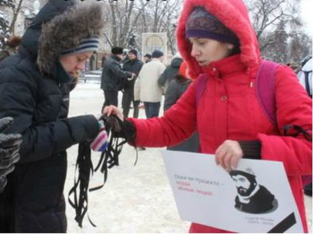 В Тернополе - траур по убитых активистах